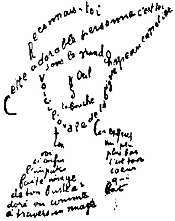 Apollinaire, Calligrammes, 1918