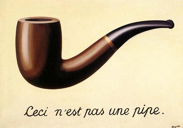 Magritte, La Trahison des images, 1928 − 1929