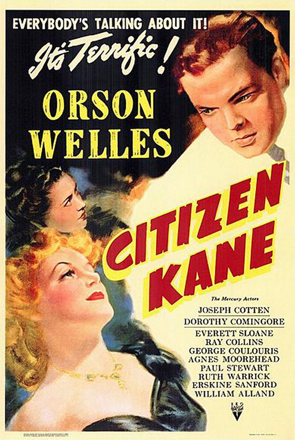 Affiche du film Citizen Kane sorti en 1941