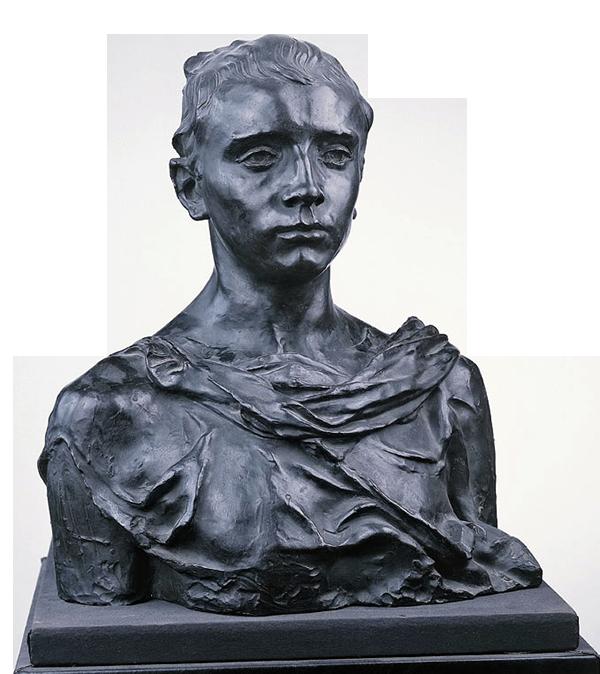 Camille Claudel, Paul Claudel à seize ans, 1895