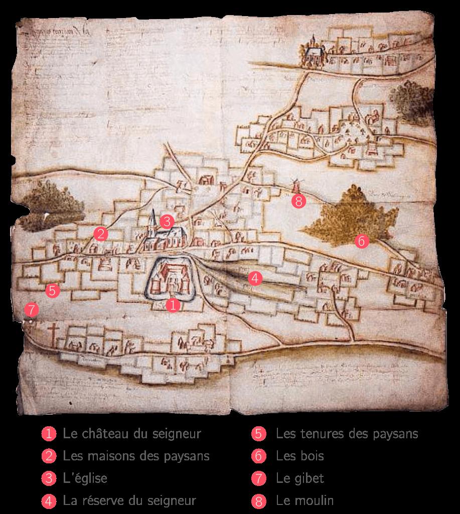 La seigneurie de Wismes, dans le Nord de la France
