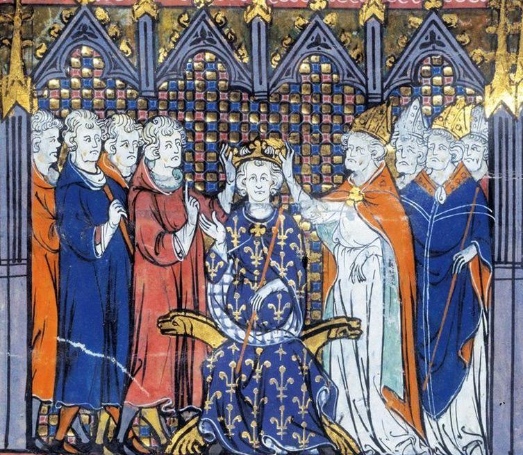 Couronnement d'Hugues Capet, roi de France