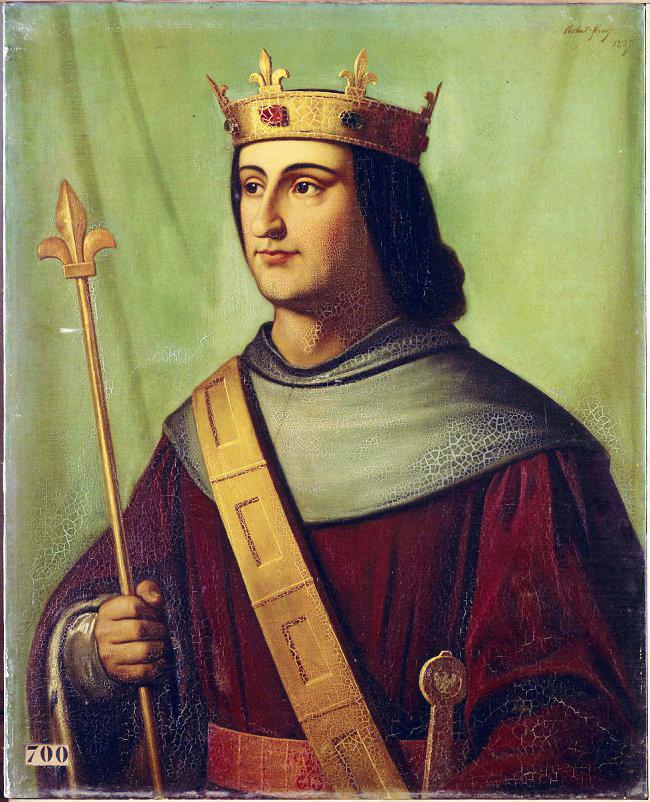 Philippe de Valois, Joseph Cicolas Robert-Fleury