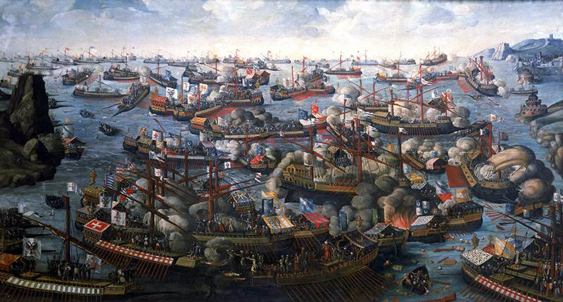La bataille de Lépante (1571)