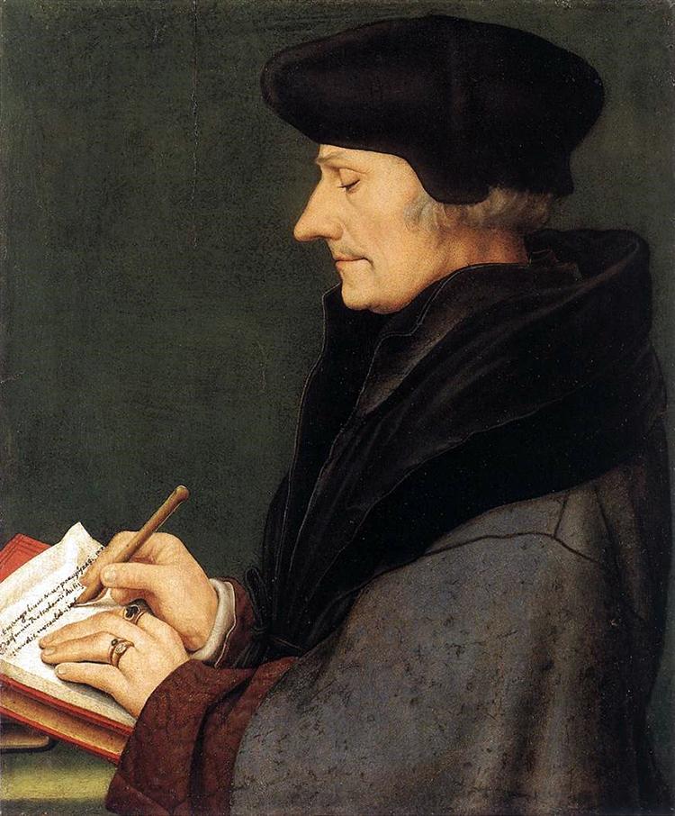 Desiderius Erasmus, Hans Holbein le Jeune
