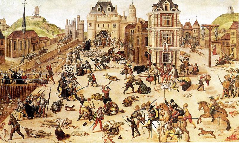 Le massacre de la Saint-Barthélémy, François Dubois (1529 − 1584)