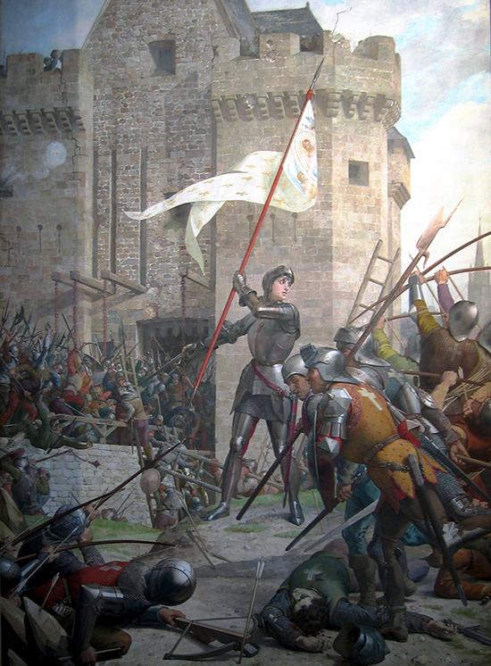 Jeanne d'Arc au siège d'Orléans, Jules Eugène Lenepveu (1819 − 1898)