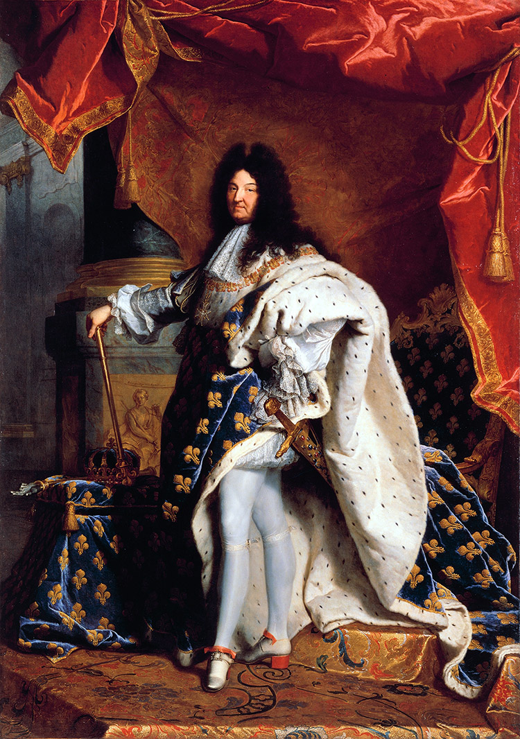 Louis XIV par Hyacinthe Rigaud