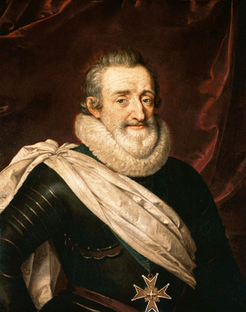 Henri IV par Frans Porbus le Jeune