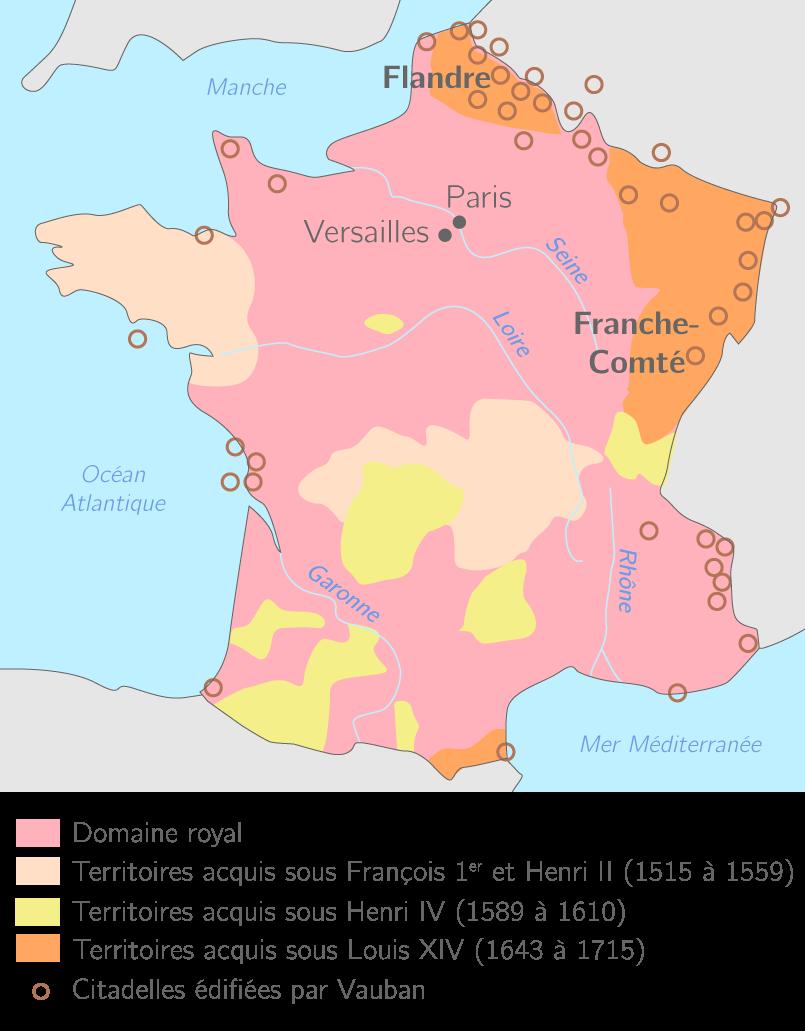 La France de 1515 à 1715