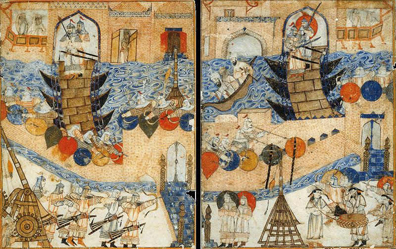 La conquête de Bagdad par les Mongols en 1258