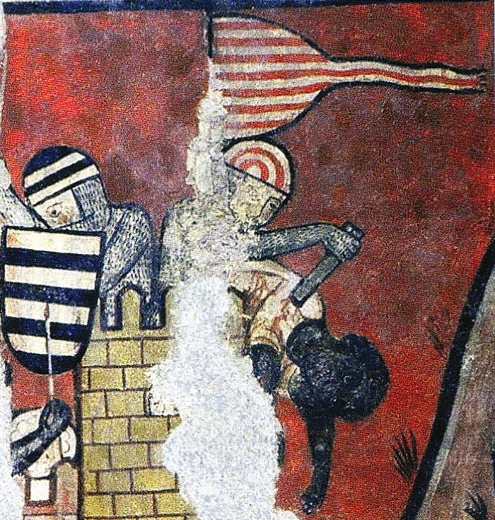 L'assaut de la médina de Majorque en 1229