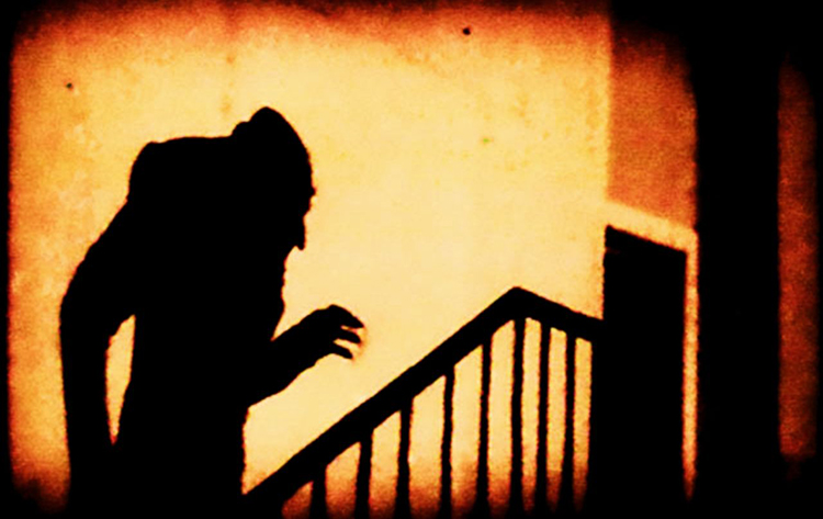 Image du film Nosferatu, Murnau, 1922