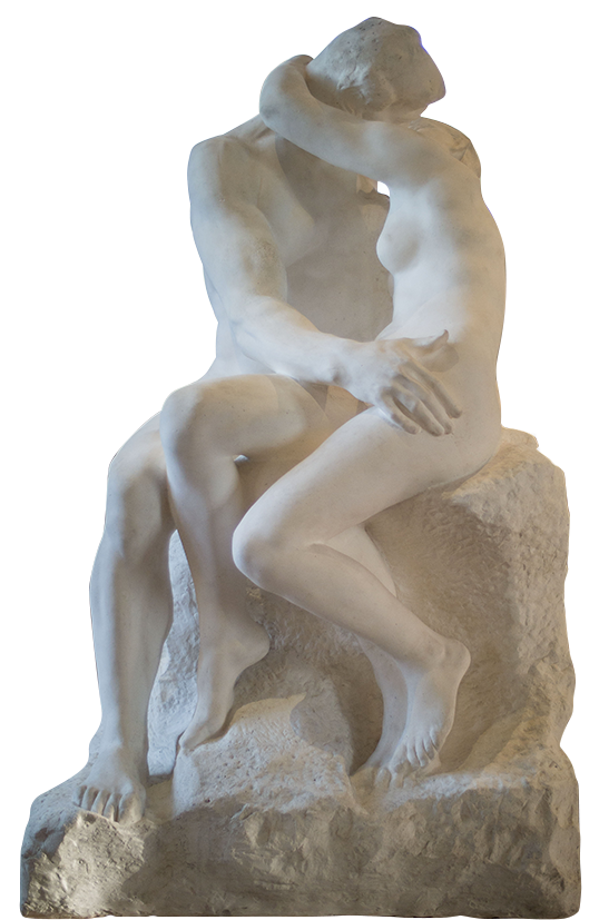 Le Baiser, Rodin, 1889
