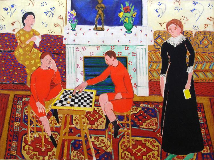 Henri Matisse, Portrait de la famille du peintre, 1911