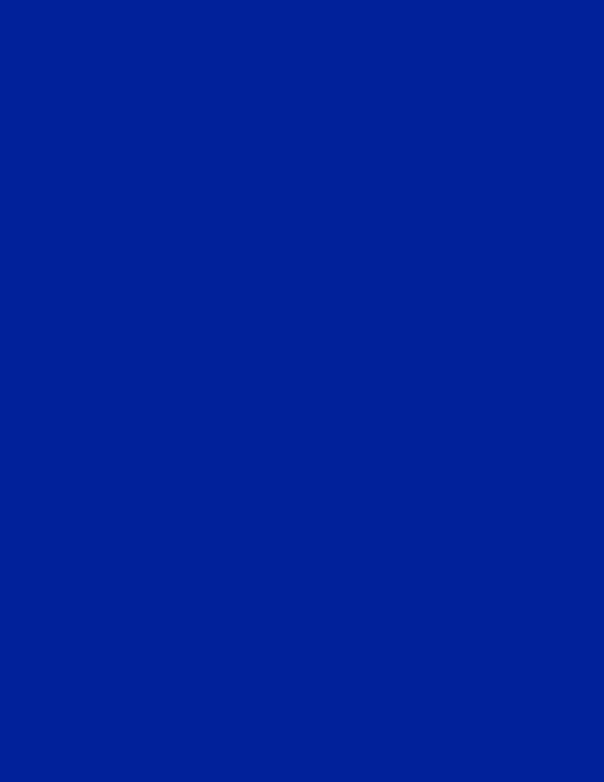"""Yves Klein, """"IKB 191 – Monochrome bleu"""", 1960"""