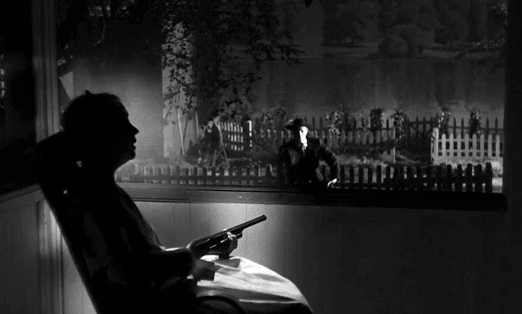Image tirée de La Nuit du chasseur film de Charles Laughton sorti en 1955