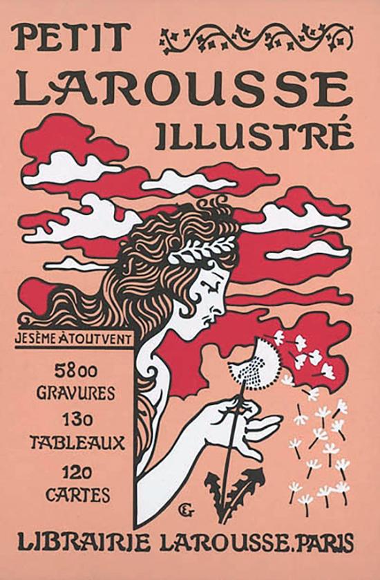 Couverture du Petit Larousse illustré de 1905