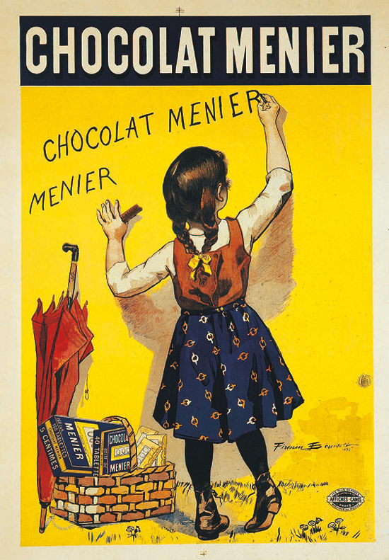Affiche publicitaire pour Chocolat Menier, 1893