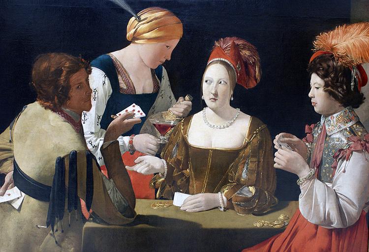 Georges de La Tour, Le Tricheur à l'as de carreau, 1636 − 1638