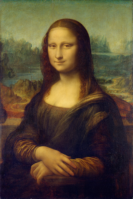 La Joconde, Léonard de Vinci, 1503 − 1506