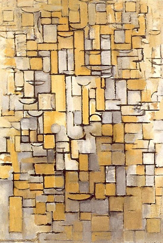 Composition XIV, Mondrian, 1913