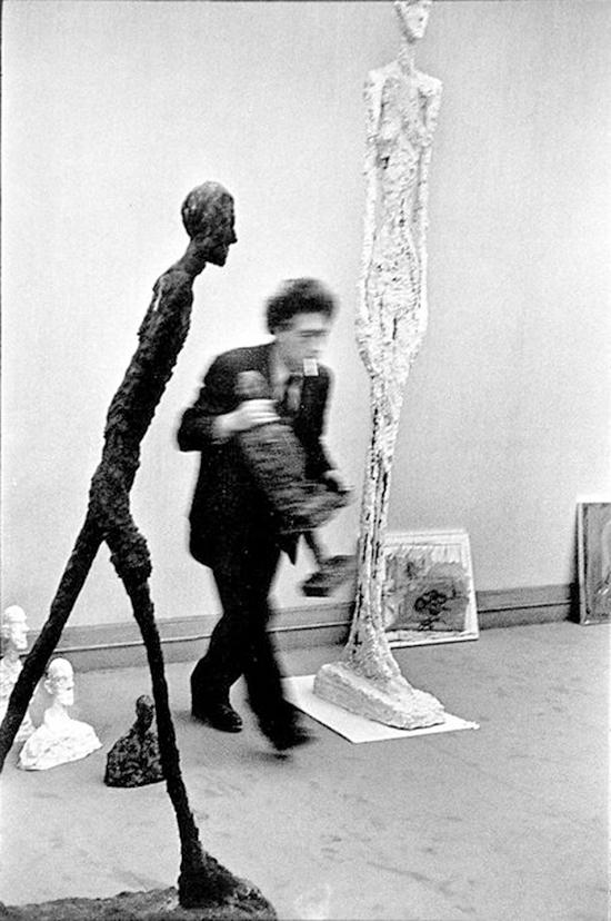 Portrait d'Alberto Giacometti, Cartier-Bresson, 1961