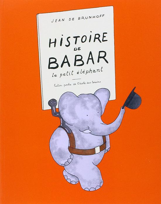 Couverture du premier livre de Babar, 1931