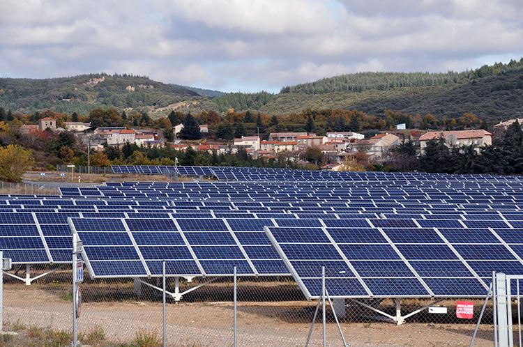Centrale photovoltaïque de Puits Castan (France)