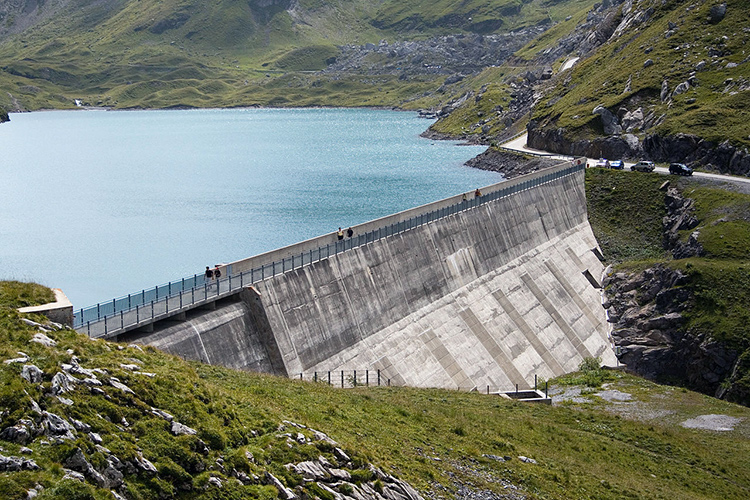Barrage du Sanetsch (Alpes suisses)