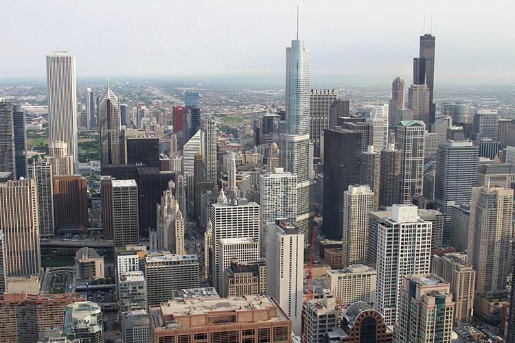 Chicago aux États-Unis
