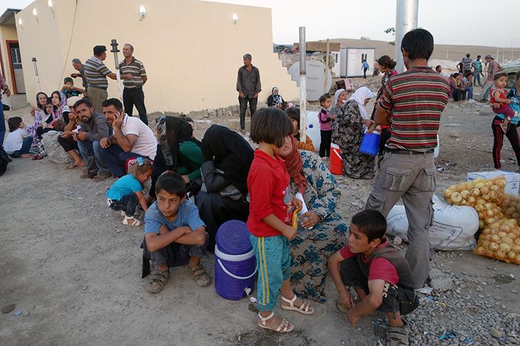 Réfugiés kurdes syriens