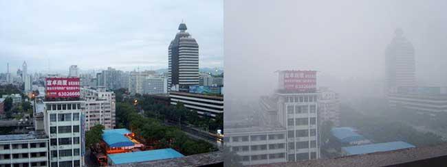 Épisode de pollution à Pékin
