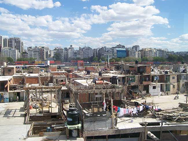 La ségrégation socio-spatialeà Buenos Aires