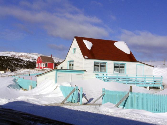 Saint-Pierre-et-Miquelon pendant l'hiver