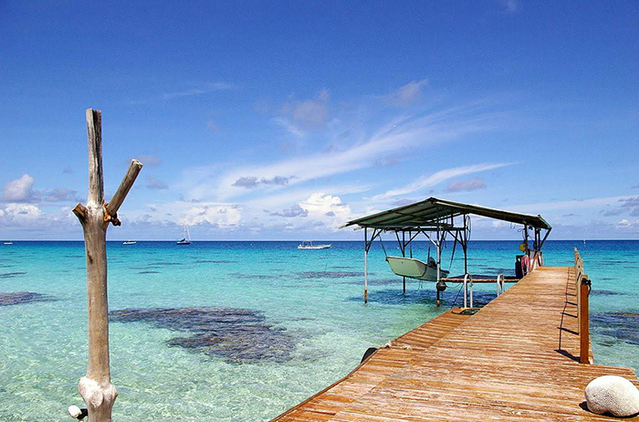 Installation touristique en Polynésie
