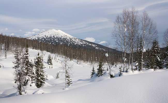La Sibérie, vaste désert froid qui s'étend sur le territoire russe