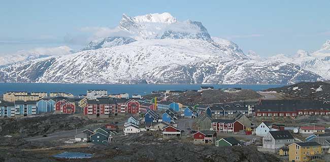 La ville de Nuuk