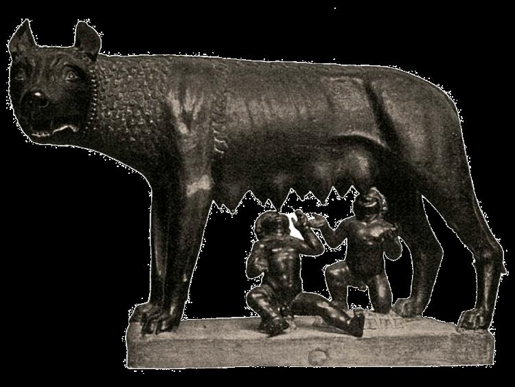 La louve allaitant Romulus et Rémus, musée Capitolini, Rome