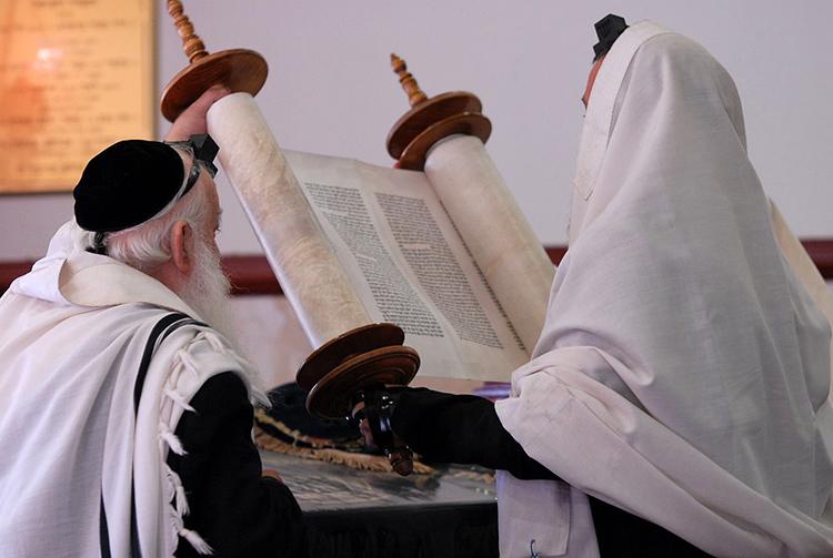 La lecture de la Torah