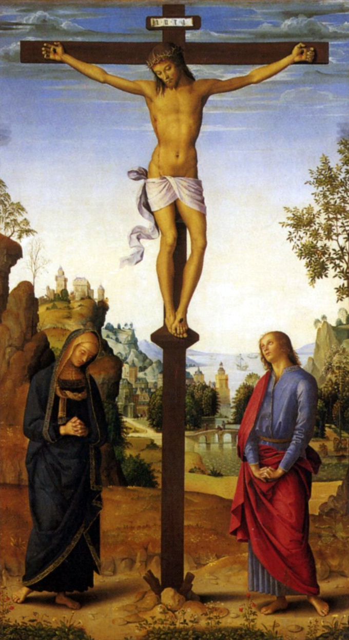 Crucifixion, Le Pérugin