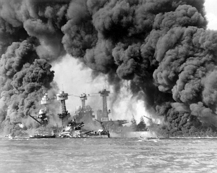 Attaque japonaise sur la base américaine de Pearl Harbor