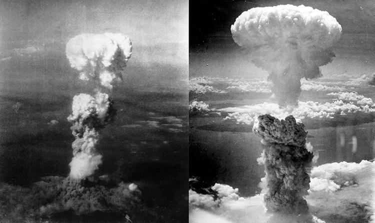 Les bombes atomiques : des armes de destruction massive