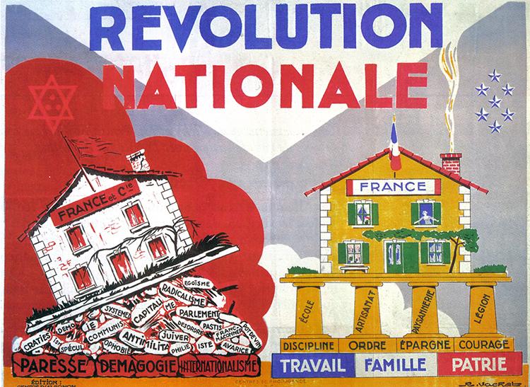 Affiche de propagande du régime de Vichy