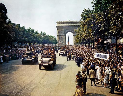Le défilé du 26 août 1944 à Paris