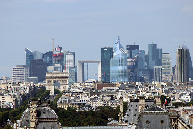 Le quartier de La Défense à Paris
