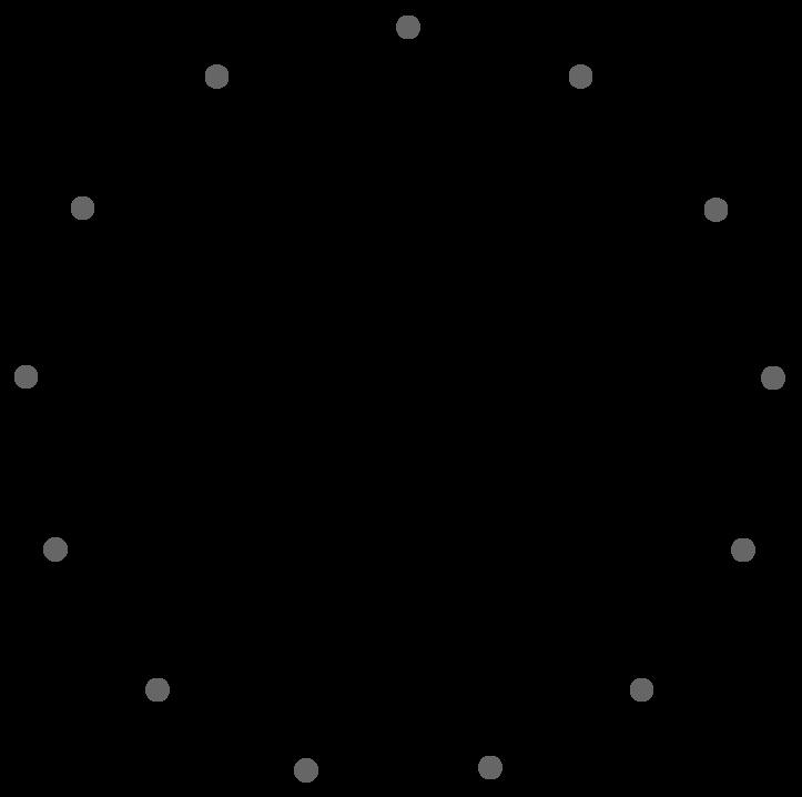 Trajectoire circulaire d'un point