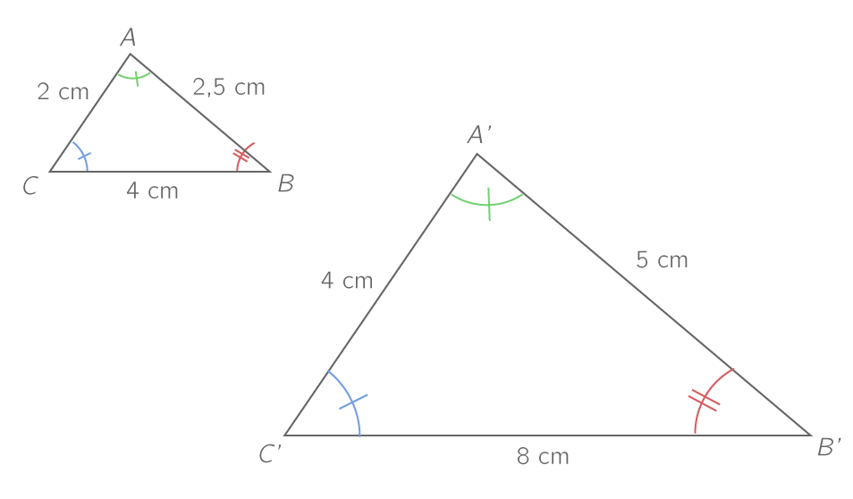 exercice triangle semblable