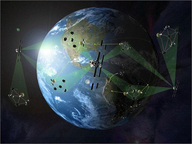 Satellites artificiels autour de la Terre