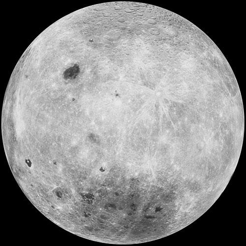 """Face """"cachée"""" de la Lune"""